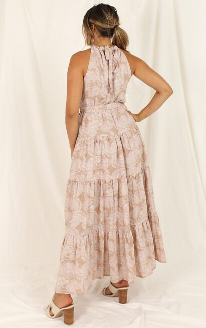 Kiss Me Hard dress in pink floral - 14 (XL), Pink, hi-res image number null