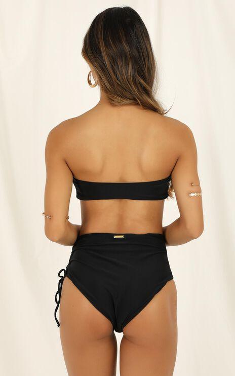 Wilma Bikini Top In Black