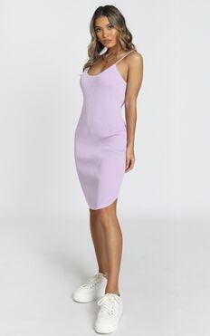 Holly Dress in Purple