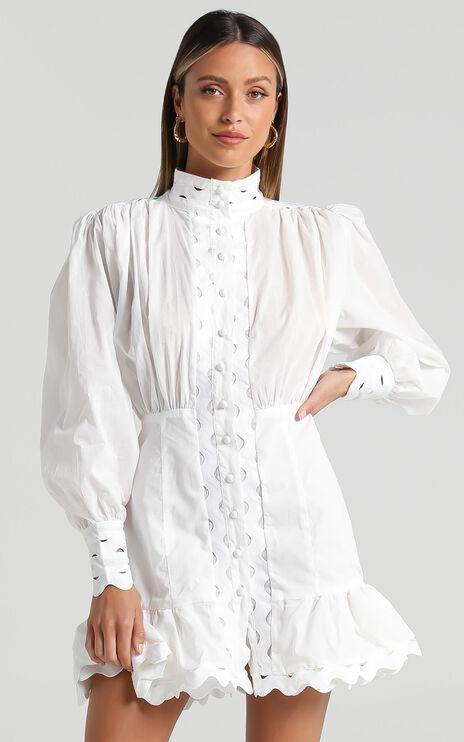 Ferguson Dress in White