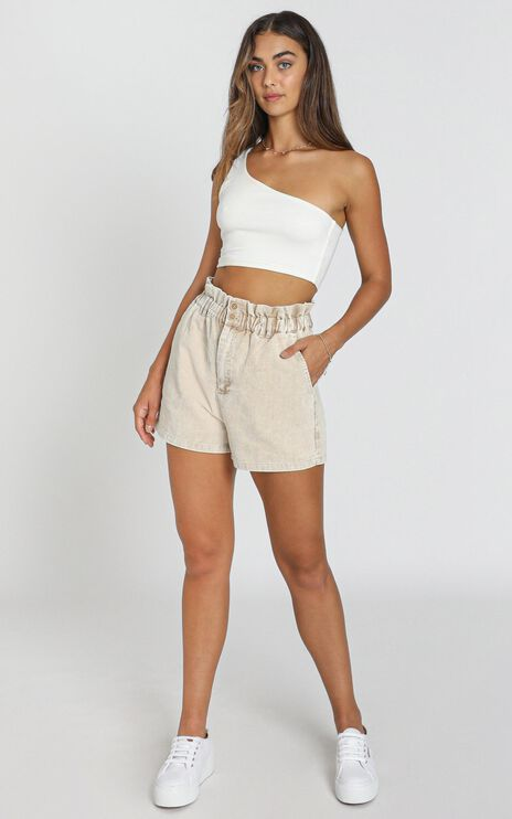 Cheshire Shorts in Taupe