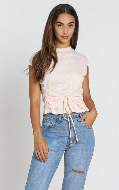ZYA The Label - Akasha Tee in pink, Pink, hi-res image number null