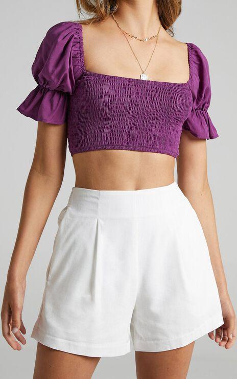 Danii Shorts in White