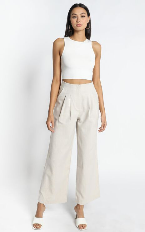 Tamsin Pants in Cream