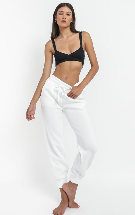 Mireya Sweat pants in White