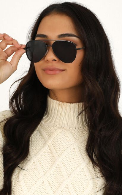 Fault Line Sunglasses In Black, , hi-res image number null