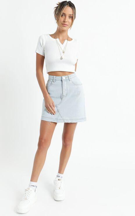 Netty Top in White