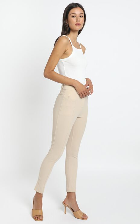 Iris Pants in Beige