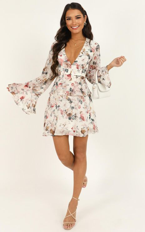 But To You Its All The Same Dress In White Floral
