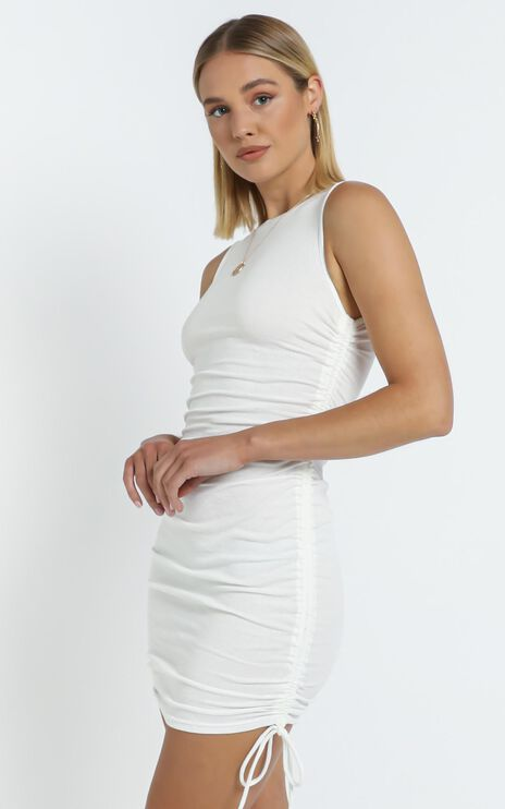 Judy Dress in White
