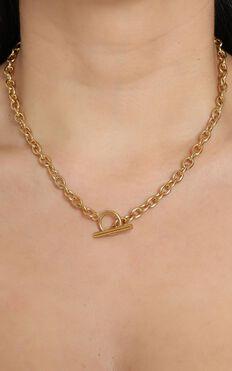 Fine Details Necklace in Gold