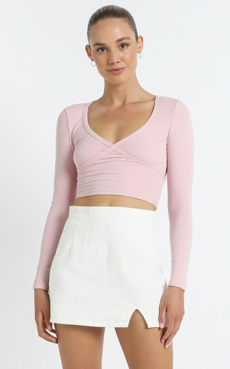 New Yorker Top in Pink