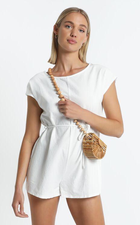 Anneke Bag in Bamboo