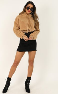 Your Meaning Jumper In Tan
