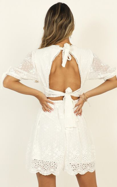 See The World Dress in white embroidery - 20 (XXXXL), White, hi-res image number null