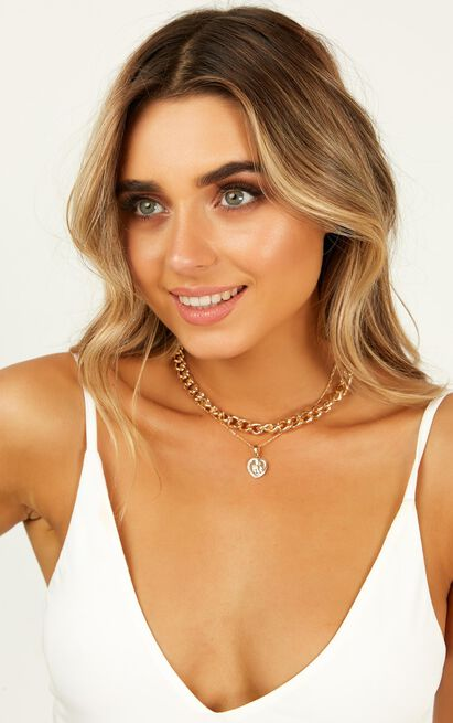 Take The Love Necklace In Gold, , hi-res image number null