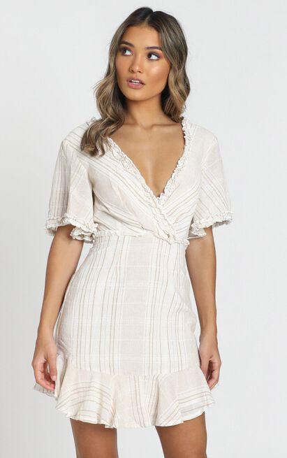 Nova Dress in white - 6 (XS), White, hi-res image number null