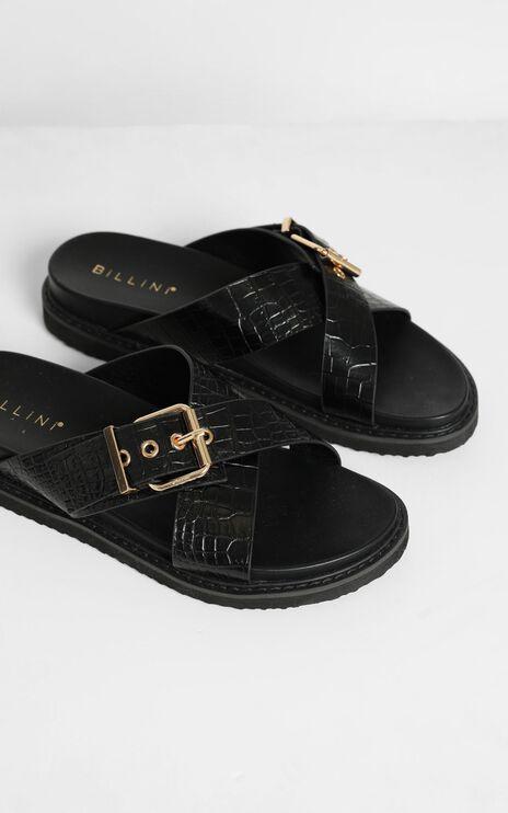 Billini - Zayla Sandals in Black Croc