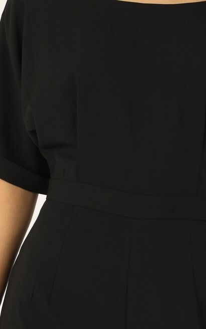 Clean Start Jumpsuit in black - 20 (XXXXL), Black, hi-res image number null