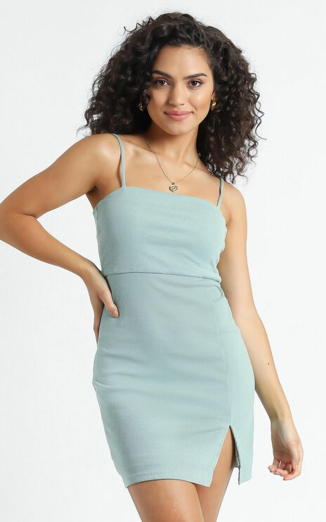 Island Babe Dress in Sage