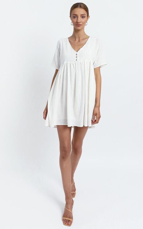 Coraline Dress in White