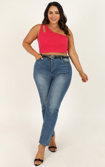 All The Answers top in berry - 20 (XXXXL), Pink, hi-res image number null