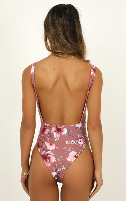 Mikalea One piece in rose floral - 20 (XXXXL), Blush, hi-res image number null