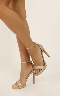 Billini - Kepos Heels In Nude Pearl