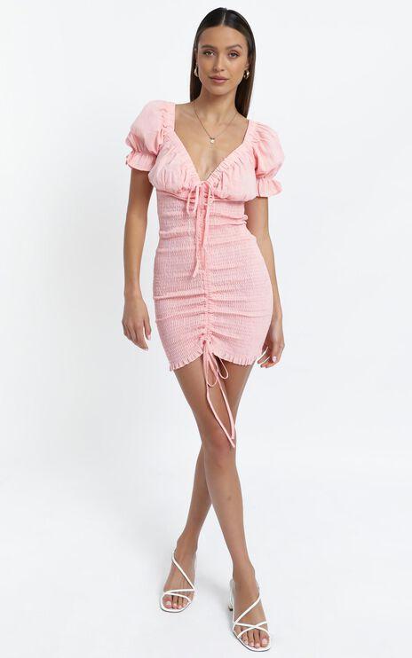 Elaine Dress in Pink