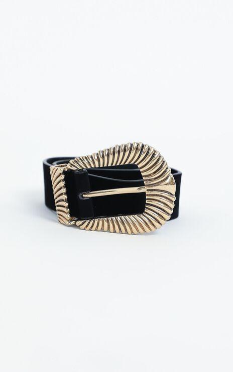 Cora Belt in Black