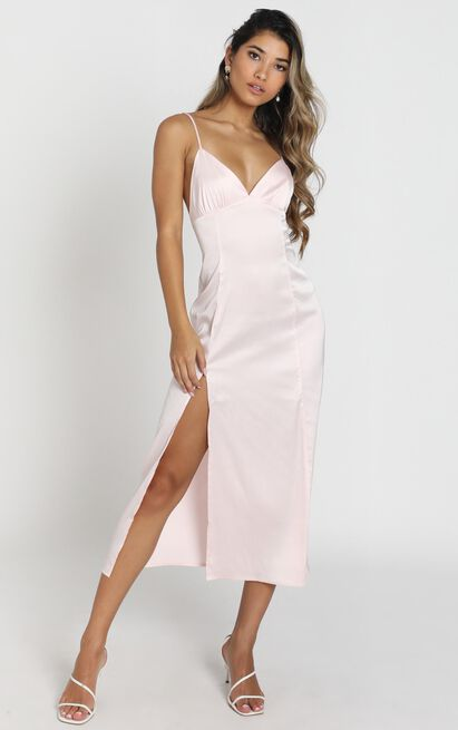 Winnie Dress in peach - 8 (S), Plum, hi-res image number null
