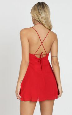 Ill Give You All The Love Dress In Red