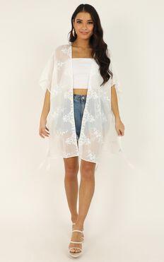 What Dreams Are Kimono In White