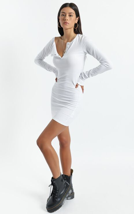 Lioness - Gramercy Mini Dress in White