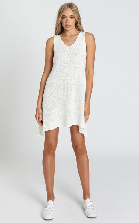 Jamie Knit Dress in White
