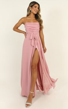 Someone I Love Dress In Blush