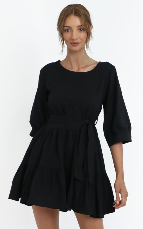 Cade Dress in Black