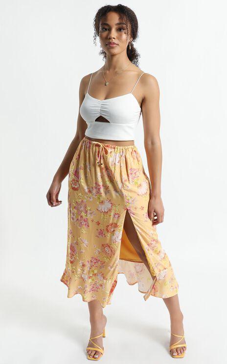 Kalista Skirt in Tuscan Spring