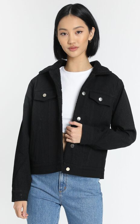 Fenya Jacket in Black