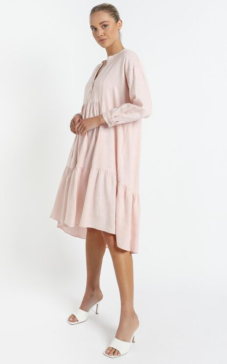 Avani Dress in Blush