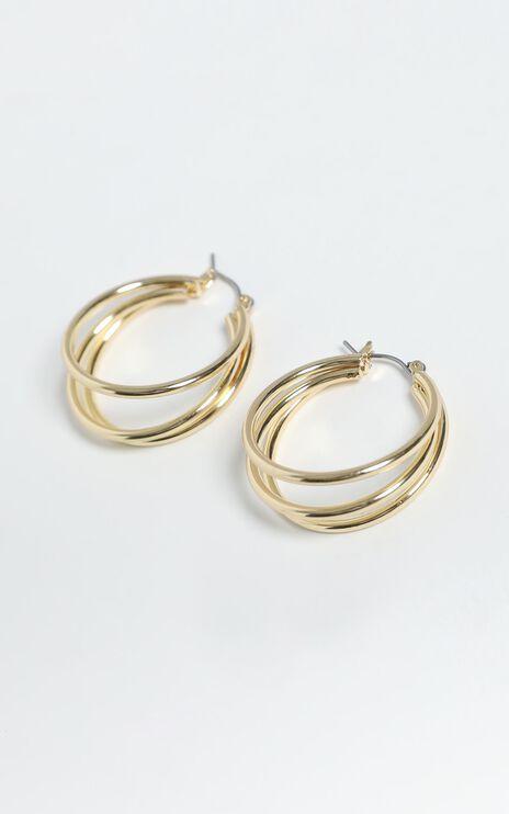 Britta Earrings in Gold