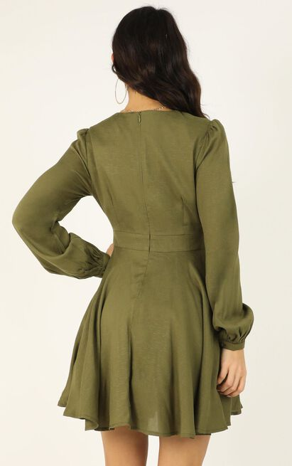 Clean and Clear Dress in khaki - 20 (XXXXL), Khaki, hi-res image number null