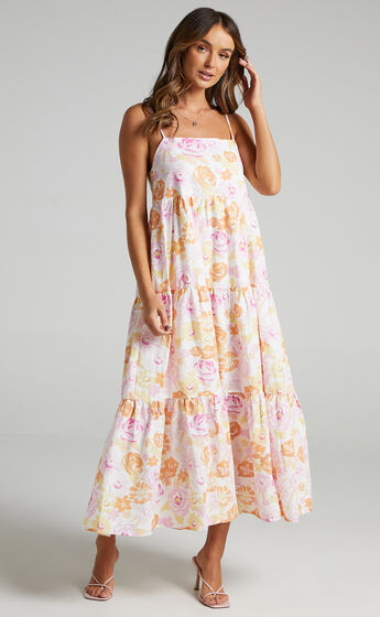Charlie Holiday - Isabella Maxi Dress in Summertime Floral