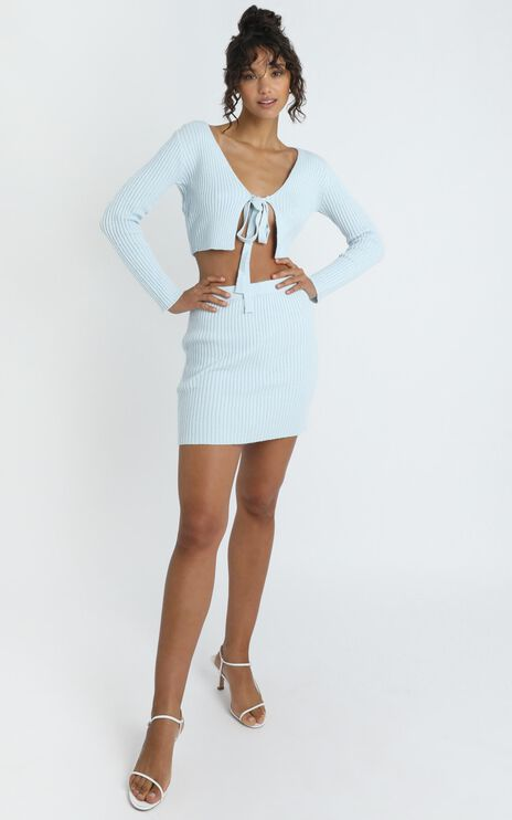 Winifred Top in Pastel Blue