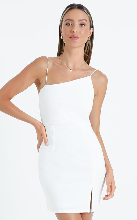 My Whole Heart dress in White
