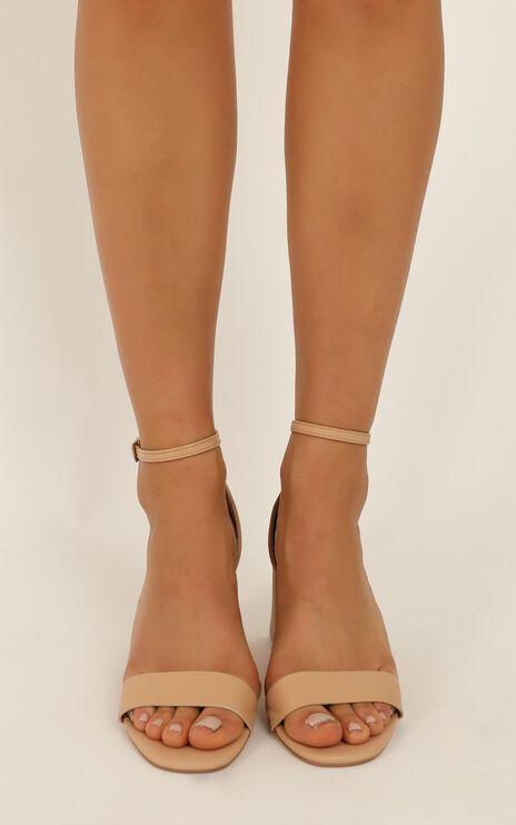 Verali - Indi Heels In Nude Smooth