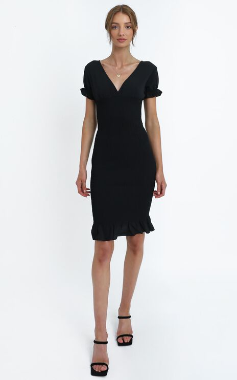 Robin Dress in Black