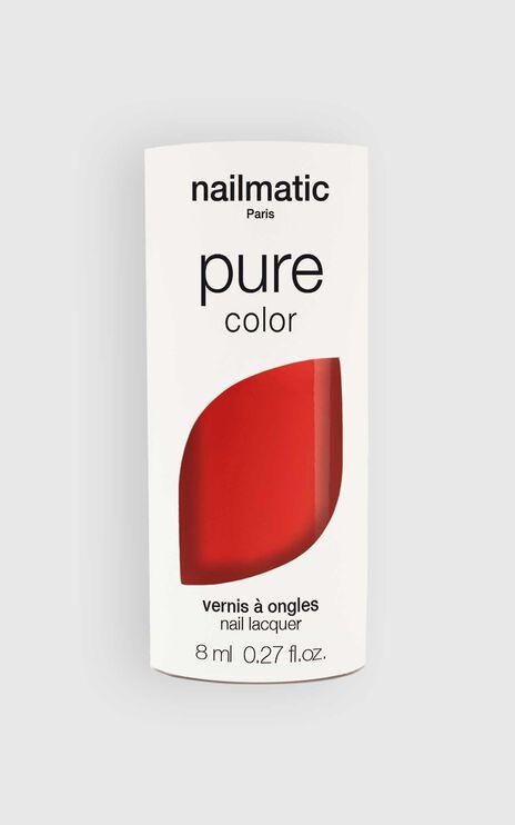Nailmatic - Pure Color Ella Nail Polish in Coral Red
