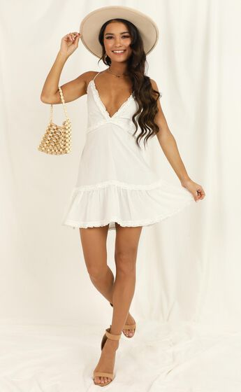 Out Of The Stars Dress In White