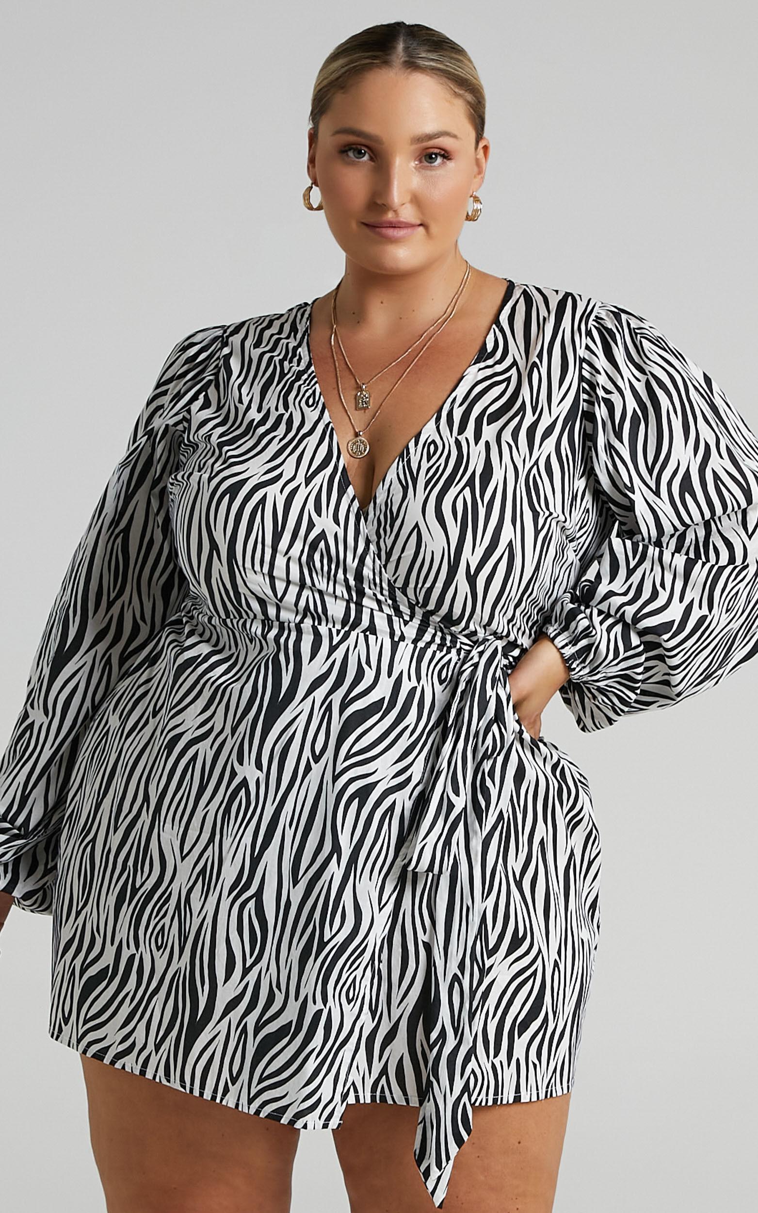 Decima Dress in Zebra - 04, MLT1, super-hi-res image number null
